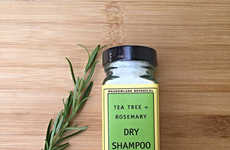 Herb-Infused Hair Cleansers - This Organic Dry Shampoo Boasts Tea Tree and Rosemary Ingredients