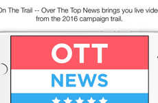 P2P Live-Streaming Apps - The OTT News App Offers Peer-to-Peer Live Streams of Election Coverage