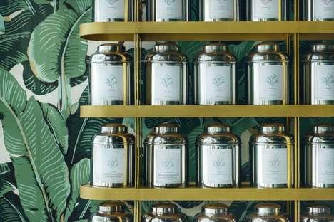 Luxe Botanical Tea Rooms