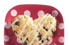 Delicious Heart-Shaped Biscuits - This Chain is Celebrating Valentine's Day with Heart-Shaped Treats