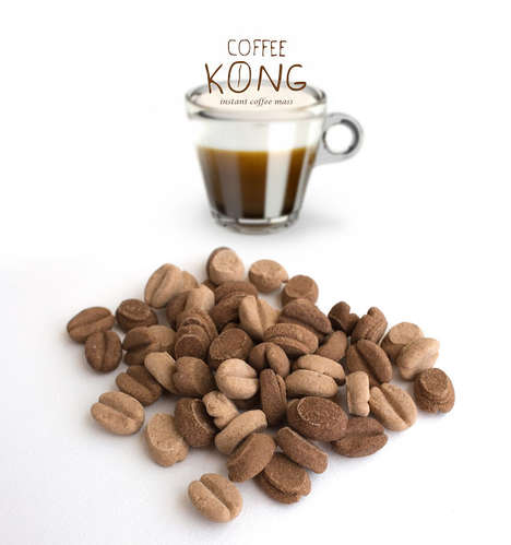 Instant Coffee Beans - This Coffee Concept Turns Compressed Instant Coffee into Beans