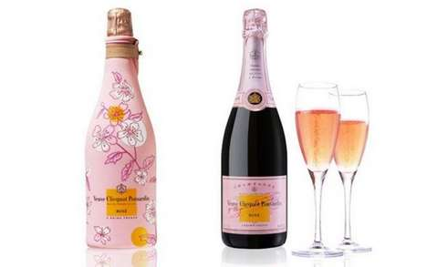 Romantic Personalized Wine - Consumers Can Personalize a Veuve Clicquot Bottle for Their Valentine