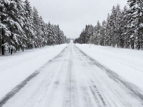 Ice-Melting Roadways - This Conductive Concrete Roadway Melts Snow and Ice on Contact