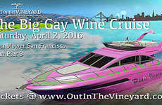 Luxurious LGBT Wine Cruises - The Big Gay Wine Cruise Features Selections From LGBT Winemakers