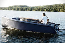 Luxe Picnic Yachts - The Rand Boat is Designed to Enjoy Food Cookouts on the Open Water
