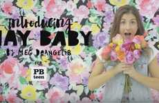 Teen-Centric Decor Ads - This PBTeen Commercial Features YouTube Influencer MayBaby