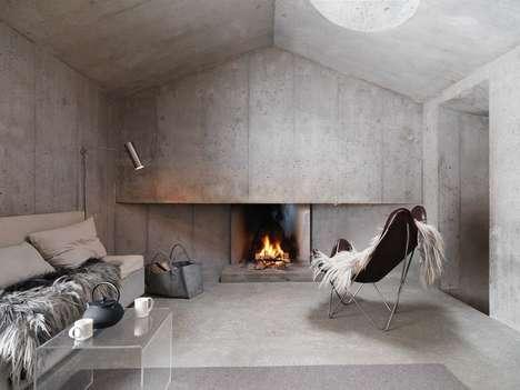 Contemporary Concrete Cottages
