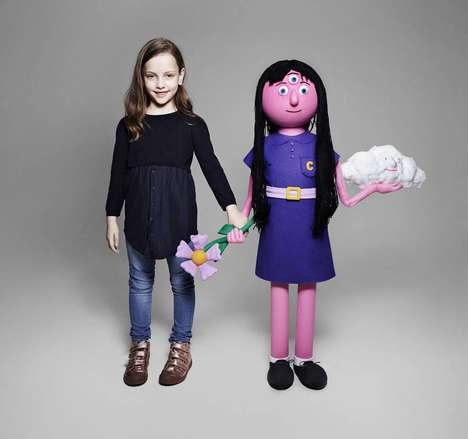 Realized Imaginary Friend Toys - AMV BBDO Turns Children's Drawings into Stuffed Playthings