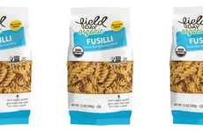 Hybrid Superfood Pastas - The Field Day Organic Fusilli Contains a Fusion of Brown Rice and Quinoa