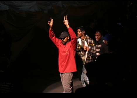 Album-Streaming Fashion Shows - Kanye West Used His Yeezy Season 3 Show to Debut His New Album