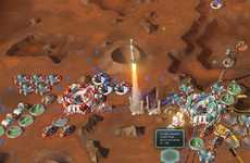 Combat-Free Strategy Games - This Game Allows Players to Build a Corporate Colony on Mars
