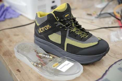 Kinetic Energy Harvesting Shoes - InStep NanoPower Footwear Technology Transforms Steps into Energy