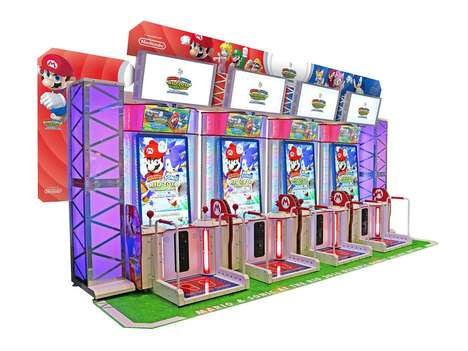 Olympics-Inspired Arcade Games