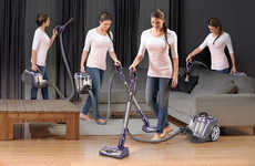 Separating Home-Cleaning Appliances - The Shark Rotator Powered Lift-Away Canister Vacuum is Capable