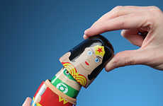 Superhero Nesting Dolls