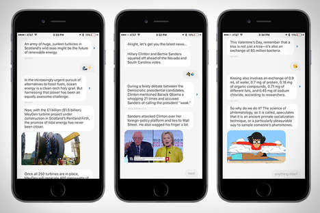 Dialoging News Apps - The Quartzz App Delivers News to Consumers in the Form of a Conversation
