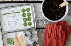Culinary Herb Gardening Kits - The Culinary Herb Garden Maker Set Will Help Kickstart Your Garden