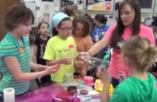 Girl-Targeted Printing Programs - This Northern Illinois University Program Supports Girls in STEM