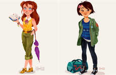 Millennial Disney Princesses