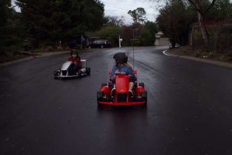 Kid-Friendly Go-Karts - The 'Arrow Smart-Kart' Gives Children the Opportunity to Experience Driving