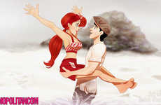 Romantic Film Disney Art