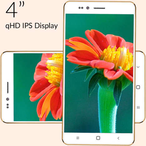 Extreme Low-Cost Smartphones - The 'Freedom 251' 3G Android Smartphone in India Costs $4