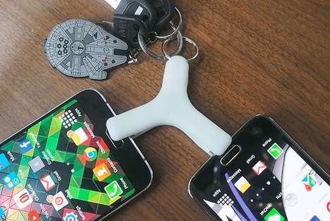 Power-Sharing Keychains