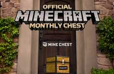 Gamer Subscription Boxes - The Mine Chest Monthly Delivery Service is for Minecraft Users