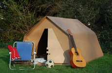 Disposable Music Festival Tents - The 'KarTent' Makes Festival Camping Easier and More Efficient