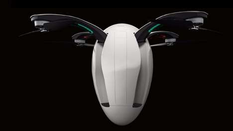 Egg-Shaped Drones