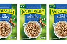 Fiber-Rich Wholegrain Cereals - The Baked Oat Bites from Nature Valley are a Healthy Morning Choice