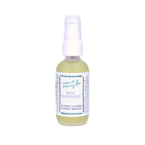 Tea-Based Makeup Removers - This Blue Chamomile and Lemon Oil Cleanser is Organically Sourced