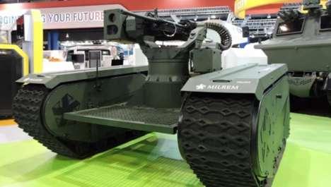 Modular Combat Robots