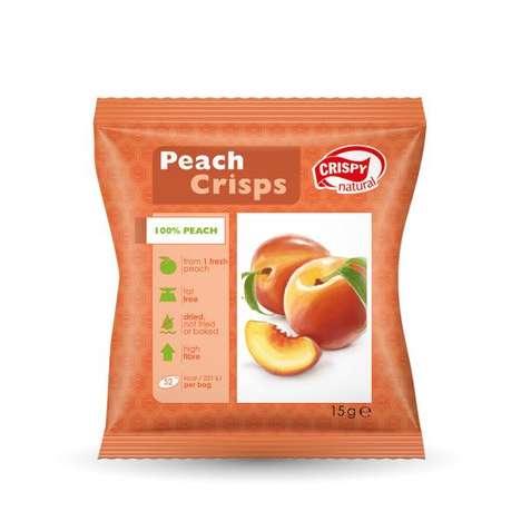 Crispy Peach Chips