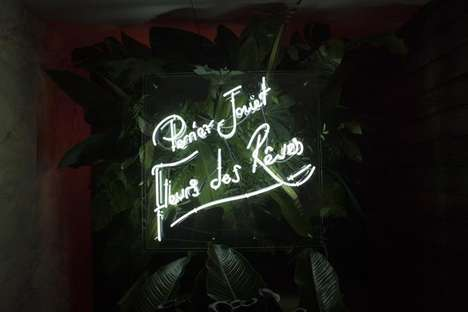 High-Tech Multi-Sensory Pop-Ups - This Ticketed Perrier-Jouët Pop-Up Was Organized by Bombas & Parr