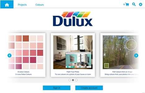 Web-Based House Paint Simulators