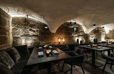 Immersive Underground Dining Concepts - At This Nuremberg Restaurant, Guests are Greeted by the Chef