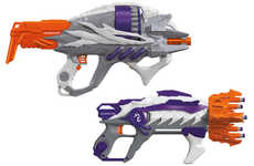 Alien-Blasting Toy Guns - The Alien Menace Line Of Blasters Are Reminiscent of the Halo Game's Guns