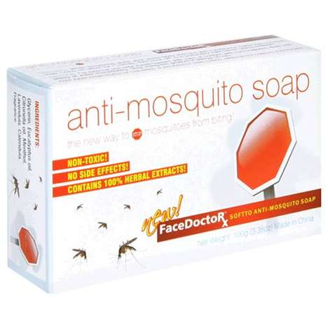 Bug Repellent Soaps - This FaceDoctorX Anti-Mosquito Soap Uses Natural Insect Repellent Oils