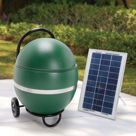 Solar-Powered Insect Sprayers