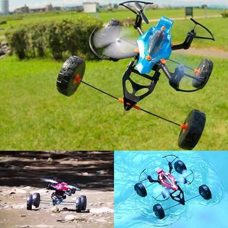 All-Terrain Toy Drones - Takara Tomy