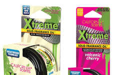 Naturally Powerful Air Fresheners - The California Scents 'Xtreme' Solid Fragrance Oils are Powerful