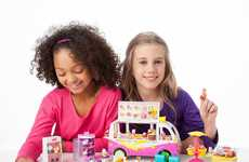 Ice Cream Truck Toys - Shopkins' Ice Cream Toy Truck is a Food Business Playset
