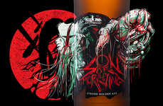Zombie-Like Beer Bottles