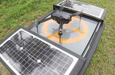 Autonomous Drone Platforms - The Dronebox Platform Can Charge and Launch Drones Automatically