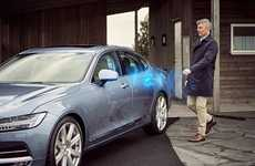 Vehicular Smartphone Keys - Volvo Will Soon Utilize Digital Keys to Grant Access to Vehicles