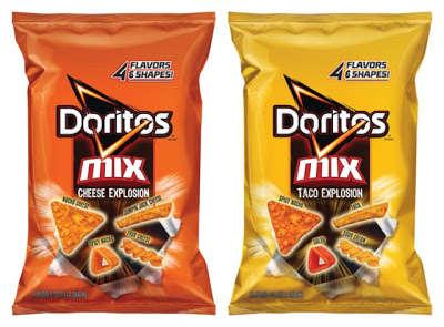 Multi-Flavor Chip Mixes
