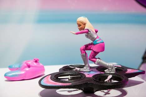 Hoverboard Barbie Toys - Mattel's Star Light Adventure RC Toy Takes Barbie to New Heights