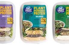 Plant-Based Protein Snacks - These Salad Kits Provide a Meat-Free Way to Consume More Protein