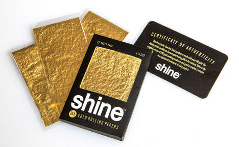 24-Karat Gold Rolling Papers